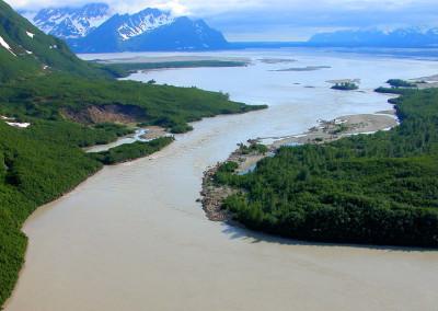 Baird Canyon Alaska, Copper River, rafting