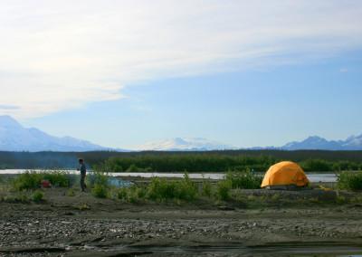 Copper River, Camping, rafting, salmon fishing, Alaska