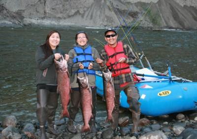Gulkana River, King salmon, Chinook Salmon