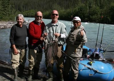 glacial river, King Salmon, salmon fishing, Sockeye Salmon, Klutina River, scenic float, rafting, scenic rafting, Alaska, rivers, sightseeing