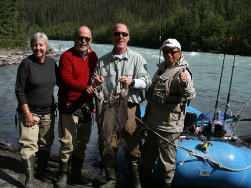 glacial river, King Salmon, salmon fishing, Sockeye Salmon, Klutina River, scenic float, rafting, scenic rafting, Alaska, rivers, sightseeing