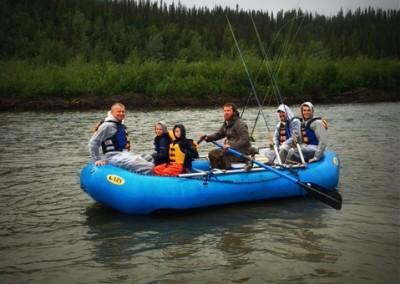salmon, fly fishing, salmon fishing, Gulkana River, rafting, Sockeye salmon, red salmon