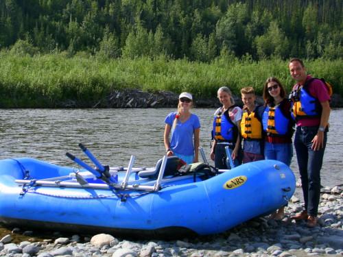 Gulkana River, rafting
